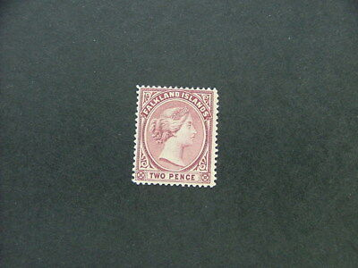 Falkland Islands QV 1895-98 2d purple SG25 MM