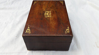 Rosewood Jewellery Box For Restoration