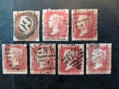 Great Britain,  Penny Red Selection