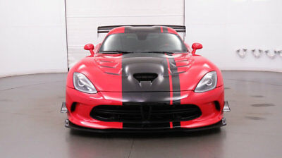 2016 Dodge Viper 2dr Coupe ACR 2016 Dodge Viper - Adrenaline Red/Black Leather Suede - clear title
