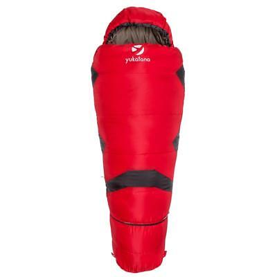 Childrens Sleeping Bag 1.20M To 1.50M Expandable Light Weight Pack Bag Red