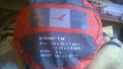 Backpacking Air Mattress Exped Synmat UL 7 MW