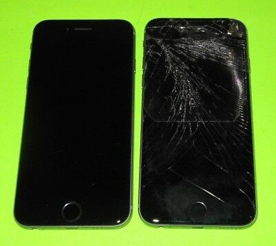 LOT of 2 Apple iPhone 6 16gb's ~PARTS~ iCL0UD ~Can't Activate ~FMI ON ~ LOT