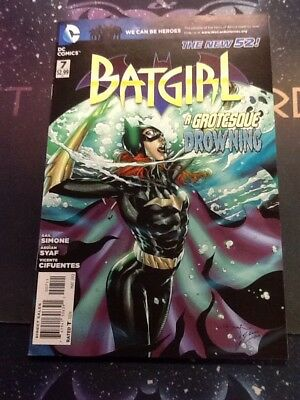 BATGIRL #7 2012 DC Comics Gail Simone Syaf 1st Grotesque NEW 52 NM 9.4 BIH003