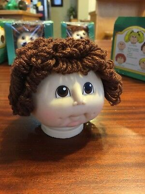 original  little  Doll Baby  head by Martha Nelson Thomas w// red curly hair