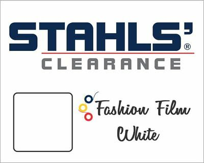 "15"" x 5 Yards - Stahls' Fashion-FILM Heat Transfer Vinyl - HTV - Matte White"