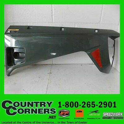 Used 2017 Prowler Lh-Green Rr-Fender Panel Assy 3307-499, Has Some Scuff Marks,