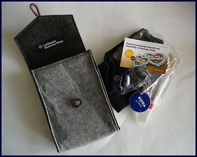 Lufthansa Business Class Amenity Kit OKTOBERFEST Packerl Wiesn Filztasche Tracht