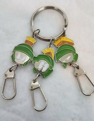 Marvin the Martian 1998 Metal Keychain *NEVER USED*