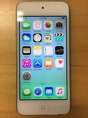 Apple iPod touch 5th Generation Blue (32 GB) - Home button doesn't work