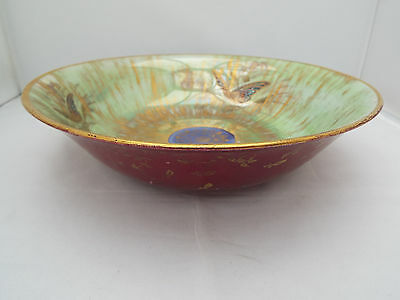 Kpm/rosenthal Rare Stunning  Lustre 'butterfly' Bowl Dated 1910