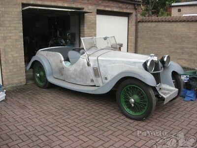1934 Riley Lynx 4 seat  4 door Tourer