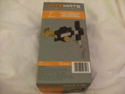 Gatemate - 50mm Long-Throw Security Lock. Lockable from both sides (1490186)