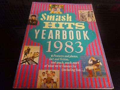 Smash Hits YearBook 1983 1st ever one (rare)