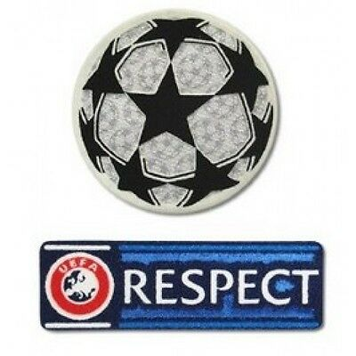 Champions League Patch Badge Set Football Shirt Iron Transfer UCL Euro Respect