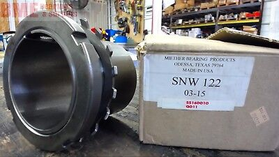 "Snw 122 Miether Bearing Adapter Sleeve  3-15/16"" Id"