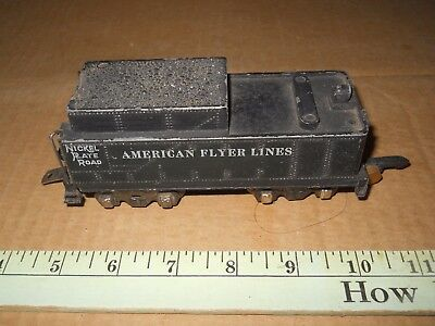 American Flyer S Gauge 342 0-8-0 Tender parts or repair