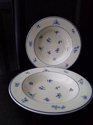 """Vintage Gorham Town And Country """"fairfield""""  Two Soup Salad Bowls"""