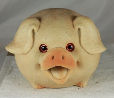 Grunting Pig, Oinks Motion Activated Sensor, Led Eyes, Fun Gift & Security Alarm