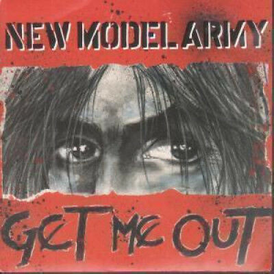 "NEW MODEL ARMY Get Me Out 7"" VINYL UK Emi 1990 B/W Prison (Nma10) Pic Sleeve"