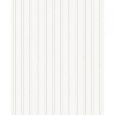 Graham & Brown Paintable Prepasted Beadboard Stripes Texture Wallpaper, W...
