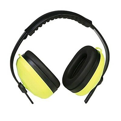 ERB 14235 105 Deluxe Ear Muffs (Lime) Lime