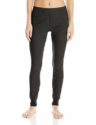 Fruit of the Loom Women's Thermal Underwear Bottom Soft Black Soot Small