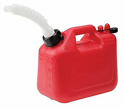 Wedco 81012 Gas Can 4.7 Liter Red