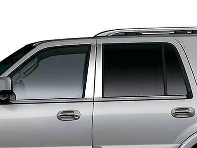 Lincoln Aviator Stainless Chrome Pillars W//Keypad by Luxury Trims 2003-2006 6pcs