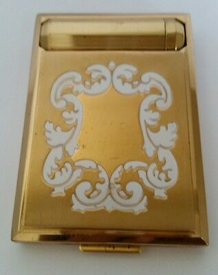 Vintage Art Deco 1930s Richard Hudnut DuBarry Vanity Compact with Lipstick. NEW!