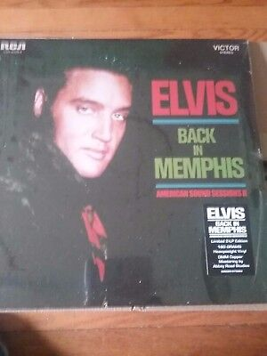 ELVIS PRESLEY BACK In Memphis FTD Sealed LP
