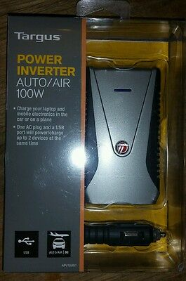 Tragus inverter auto/air 100w USB DC new in package