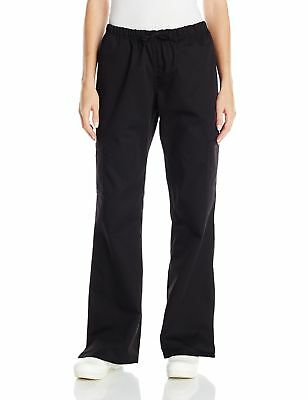 Dickies Chef Women's Pant with Cargo Pockets Black Medium