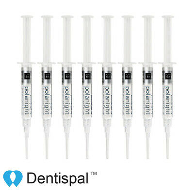 Genuine SDI Polanight Teeth Whitening Gel 22% 8 syringes Polanight Short Date