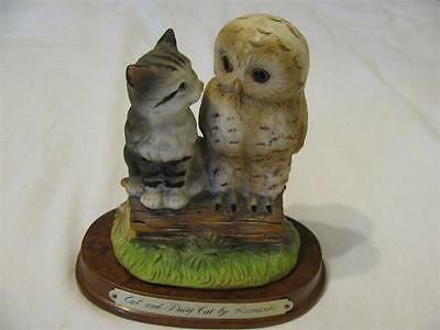 Owl and Pussy Cat By Leonardo Ornament