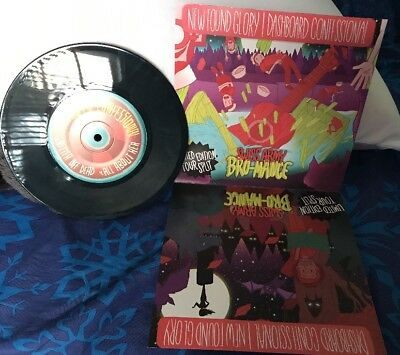 Dashboard Confessional New Found Glory Swiss Army Bro-Mance Rare Le Tour Record