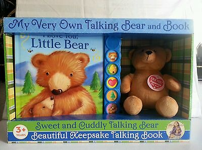 My Very Own Talking Bear & Book new in box.