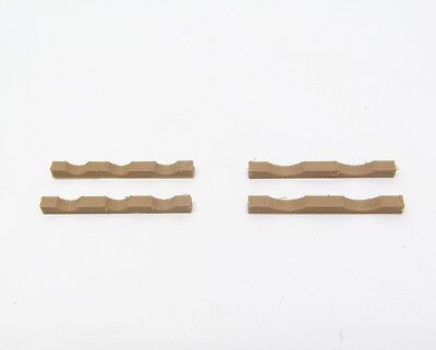 Pipe Cradles 1:50 Scale Accessory - Pack Of 4 Made from Wood / Plastic Composite