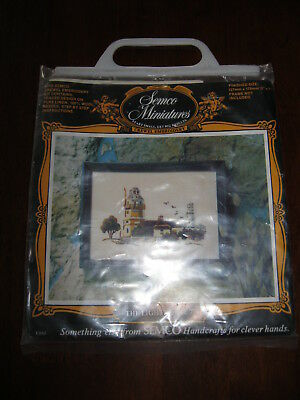 Semco Miniatures: The Lighthouse: Crewel Embroidery: Kit No. 778: Unused