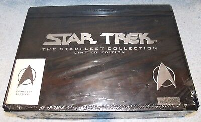 New 1993 Star Trek The Starfleet Collection 1405/5000 Limited Edition VHS Tapes