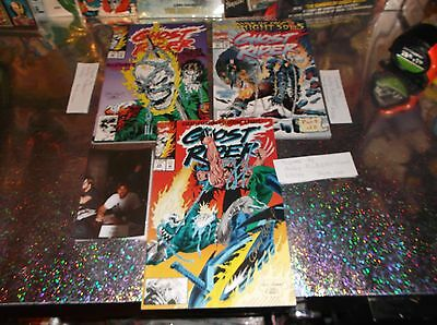 Autographed by ANDY KUBERT * GHOST RIDER LOT OF THREE *  29, 30 & 31 * ALL NMM