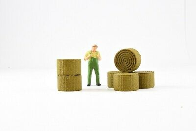 Hay Bales 1:50 Scale By 3D to Scale 50-100-HB