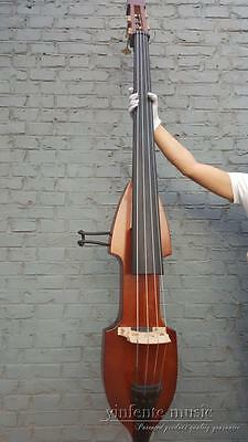 New 3/4 Electric Upright Double bass Powerful Sound Solid wood #1442