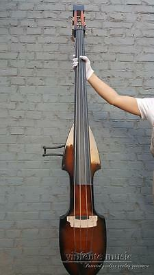 3/4 Electric Upright Double bass Yellow color Powerful Sound Solid wood #1440