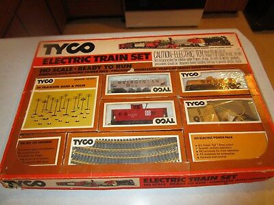 Vintage Tyco Ho Scale Train Set #7505
