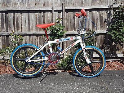Skyway TA BMX with Redline Flight Cranks