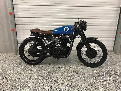 1973 Honda CB  1973 honda CL350 cafe racer by MOTO PGH cb350 cb 350 360 450 custom motorcycle