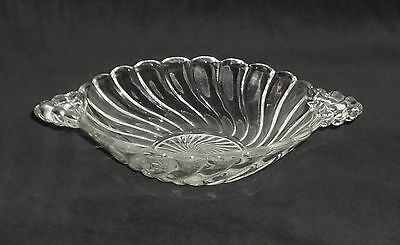 "Fostoria COLONY CRYSTAL *5 1/2"" HANDLED SWEETMEAT BOWL*"