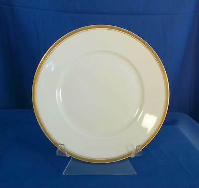 Silesia SIL29 Pie or Dessert Plate White Gold Trim OHME Germany bfe1833