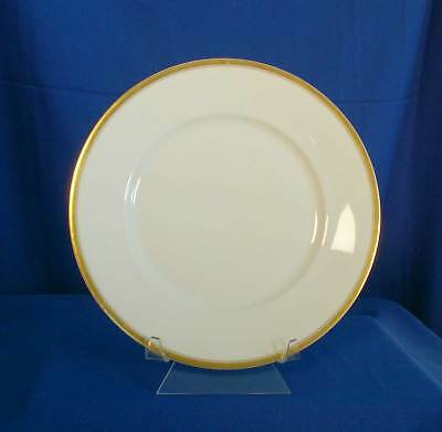 Silesia SIL29 Dinner Plate White Gold Trim OHME Germany bfe1834